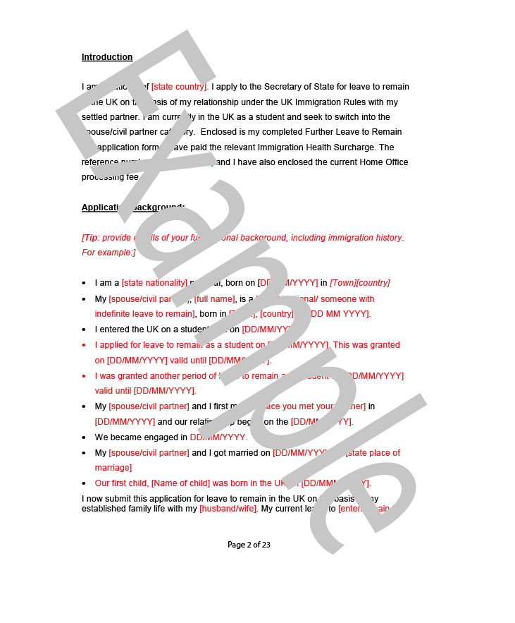 cover letter for spousal sponsorship application Hello again i am just in the process of writing my sponsor letter for my husband's visa application i have a very good command of english and my letter.