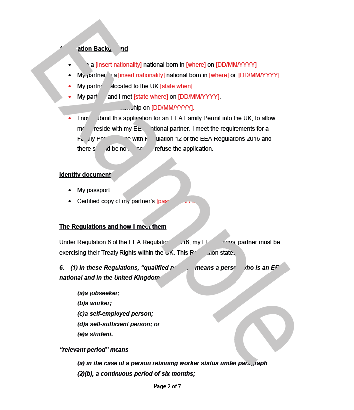 cover letter page 2 diy uk immigration services limited