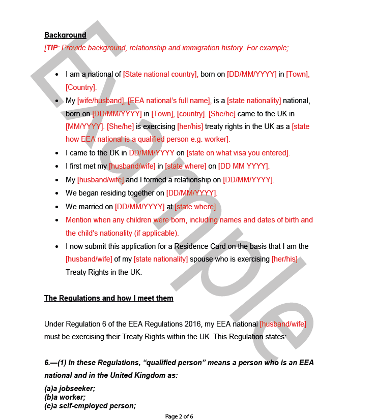 Apply for a eea residency card spouse of eea national an application thecheapjerseys Gallery