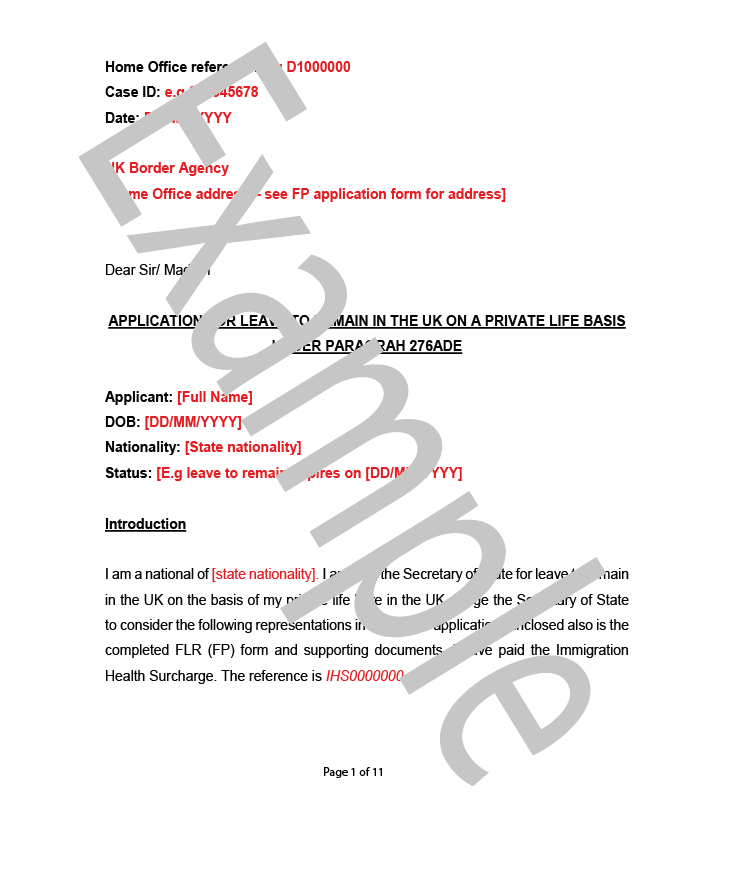 Cover letter example flr fp page 1 of 2 diy uk immigration in this tutorial you will learn about copying and storing documents correctly you will also learn how to make the important follow up checks and what to spiritdancerdesigns