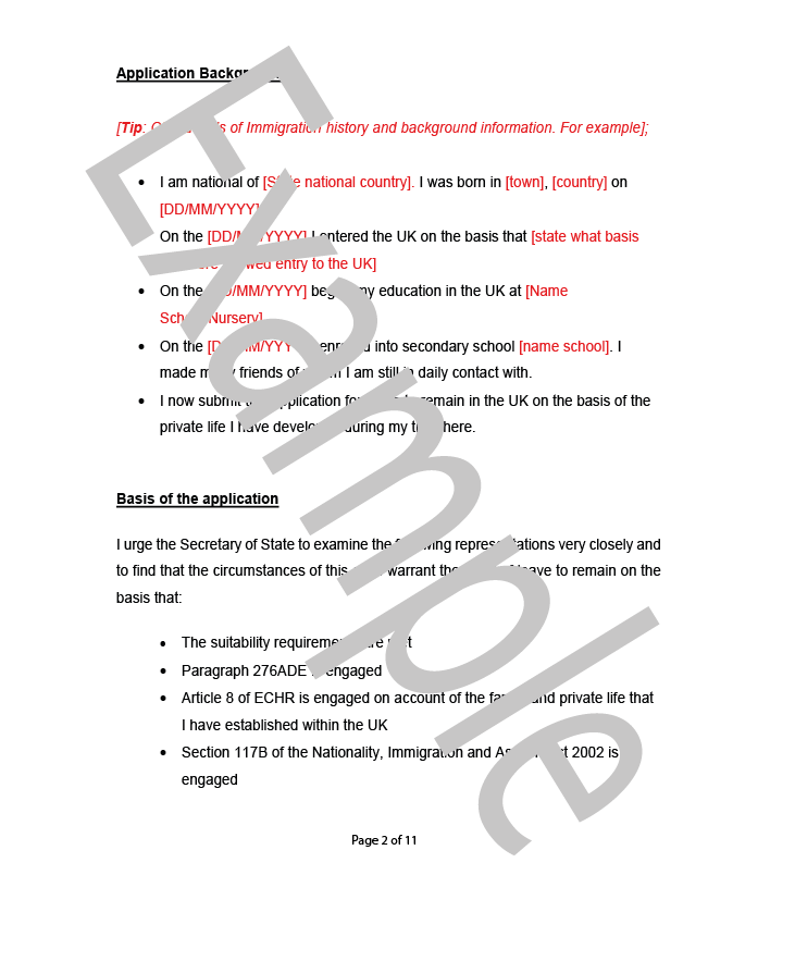 Elegant Cover Letter Example  Flr Fp Page 2 Of 2